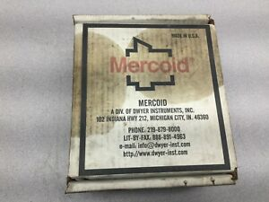 New In Box Mercoid Mercury Differental Pressure Switch Bb 523 3 8s