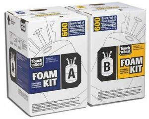 Touch n Seal U2 600 Spray Closed Cell Foam Insulation Kit 600bf Standard Fr