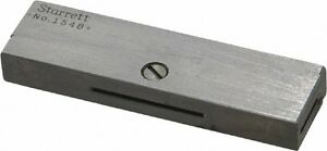 Starrett 1 2 To 11 16 Adjustable Parallel 2 1 8 Long X 9 32 Thick