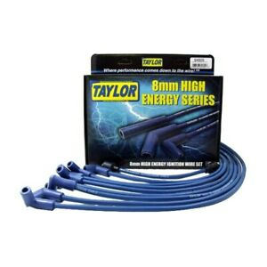 For Chevy Corvette 66 74 Taylor Cable High Energy Ignition Wire Set Under Header