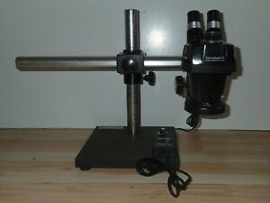 Bausch And Lomb Stereo Zoom 4 Microscopes With Boom Stands