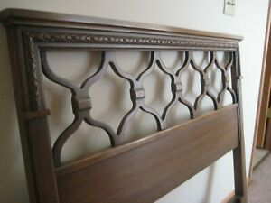 Vintage Solid Wood Twinsize Bed Headboards