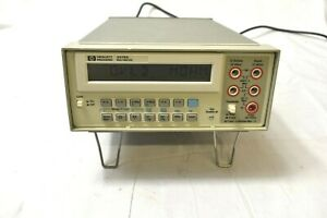 Agilent Hp 3478a Benchtop Dmm Digital Multimeter Working Unit Surplus