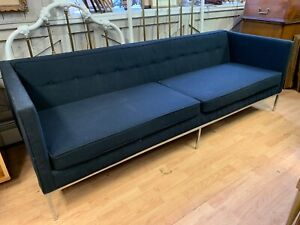 Vintage Mid Century Florence Knoll Style Sofa Coutch Knoll Era