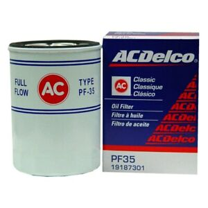 For Chevy C10 1975 1977 Acdelco Pf35 Professional Spin On Oil Filter