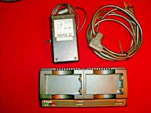 Trimble Gps Dual Battery Charger Oem W Charger Cable R8 R7 5800 5700 Tsc1 Tds