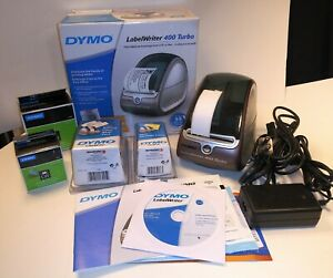 Dymo Labelwriter 400 Turbo Thermal Label Printer Extras Shipping Labels