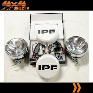 Ipf 900 Round Driving Spot Lights W 70w Hid Conversion Kit Wiring covers