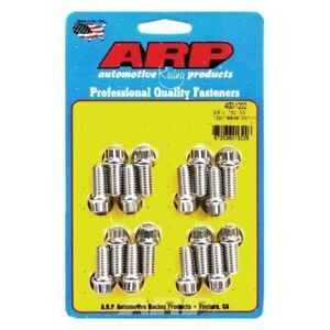 For Ford F 150 1975 1996 Arp 400 1202 Stainless Steel Polished Header Bolt Kit