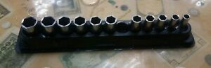 Snap on Socket Set Fsms 8 19 8mm 19mm Missing 13mm Socket With Magnetic Tray