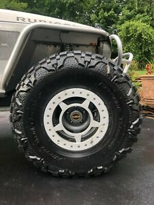 Nitto Mud Grapplers 40x13 50r17 Tires And Spyderlock Rims Package