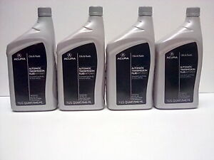 Genuine Oem Acura Honda Transmission Fluid Atf Dw 1 3 4 Qt Package