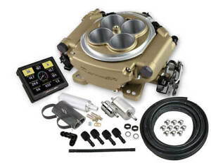 Holley 550 516k Fuel Injection Sniper Efi Master Throttle Body Square Bore Gold