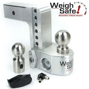 Weigh Safe Ws6 2 5 6 Drop Hitch Built in Scale For 2 5 Receiver 2