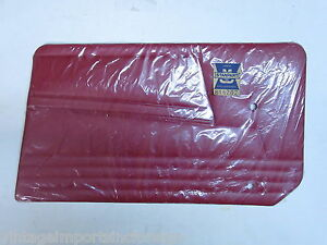 Triumph Tr6 1969 Nos Factory Stanpart Right Side Matador Red Trim Panel 816282