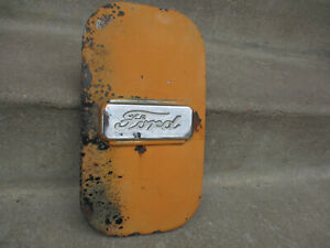 1940 1941 Ford Truck Side Emblem Sheet Metal Wall Hangar