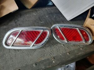 1940 Lincoln Zephyr Taillights Tail Lights