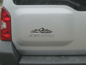 New Mountain Decal Fits Nissan Xterra Off Road Pro 4x Jeep Wrangler Lift Mud Usa