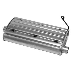 For Geo Tracker 89 95 Soundfx Steel Oval Direct fit Aluminized Exhaust Muffler