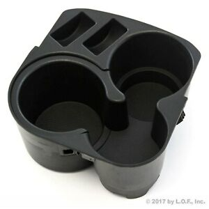 2007 2012 Fits Nissan Altima Center Console Cup Holder W Insert Drink Black New