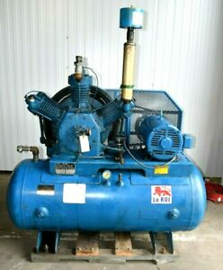 120 Gallon 3 Stage 20hp Air Compressor With After Cooler 3p 200v 60a