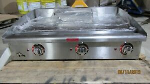 536tgf Star max 36 Countertop Commercial Electric Griddle Grill