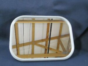 New Old Stock Nos Military Jeep Truck Mirrors Mirror 7 5 X 7 5 Replacement White