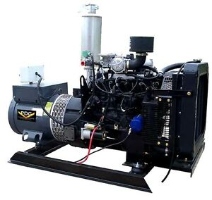 New 30 Kw Ford Generator Nat Gas Propane 2 5 Liter 120 208 240 480