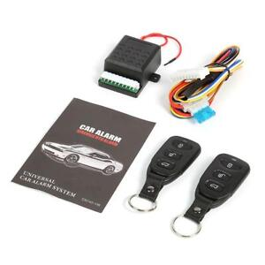 Bw A Car Remote Central Door Lock Locking Alarm Keyless Entry System 401 T102