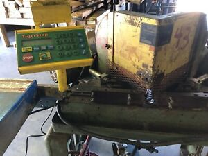 Pistorius model Mn 200 Double Miter Cut off Saw With 12 Tigerstop Automatic