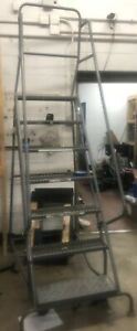 Nice Tri Arc 10ft 7 Step Rolling Ladder local Pickup Only