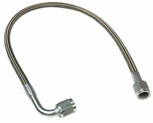4 An 30 Stainless Braided Ptfe Brake Line Straight X 90 4 Hose