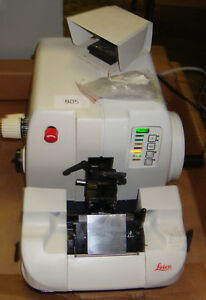 Leica Rm2155 Rm 2155 Rotary Microtome W Footswitch Pressure Plate