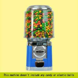 Bulk Vending Gumball Candy Dispenser Machine Blue Wholesale Vending Products