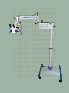 Floor Stand Dental Microscope With Accessories Led Monitor Manual Step 5
