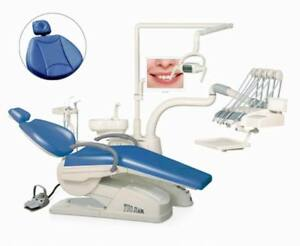 Tj2688 D4 Dental Unit Chair Computer Controlled Soft Leather Fda Ce Approved Lov