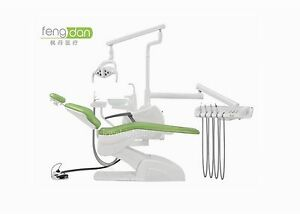 Ce fda Approved Ql2028i Fengdan Dental Unit Chair Pu Leather Computer Controlled