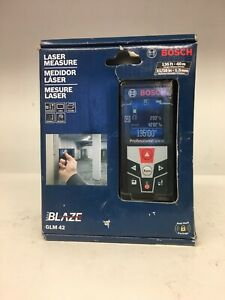 Bosch Blaze Glm 42 135 Ft Laser Measure Brand New Shipping Is Free