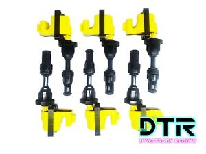 1990 1996 Nissan 300zx 6 Piece Ignition Coil Pack 22433 30p00
