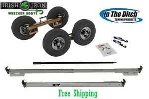 Tow Dolly Itd2890 p Greasable Hub Wrecker Tow Truck Rollback Rotator