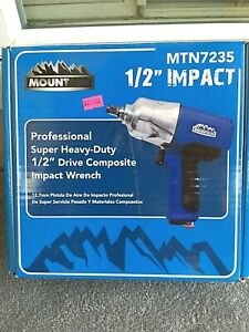 New Mountain 1 2 Drive Professional Composite Impact Wrench Mtn7235
