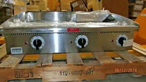 Toastmaster Tmge36 36 Stainless Electric Countertop Griddle