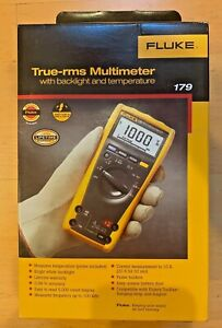 Fluke 179 True Rms Digital Multimeter With Temperature Nib