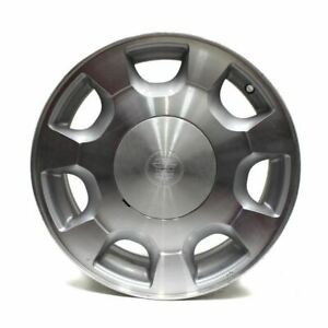 16 Wheel Cadillac Deville 2000 2001 2002 Machined Factory Oem 4559