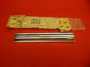 Nos 67 Ford Galaxie 500 Rh Front Lower Quarter Moulding c7az 6329076 b
