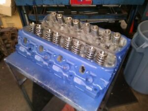 Rebuilt 78 85 Ford V8 302 Cylinder Heads D8oe Pair 5 0 Mustang Bronco New Valves