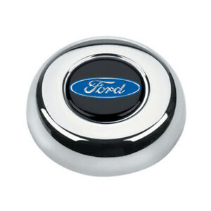 Grant 5685 Horn Button Steel Chrome Grant Classic Challenger Series Wheels
