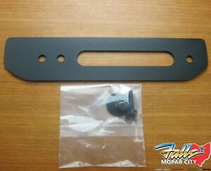 2018 2019 Jeep Wrangler Jl Winch Adapter Mounting Plate New Mopar Oem