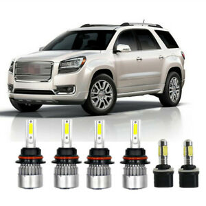 6x Car Led Light Xenon Led Headlight Fog Lights Bulbs For Dodge Dakota 98 2000