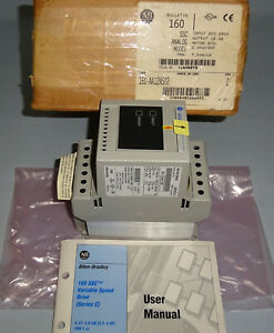 Allen Bradley 160 aa12ns02 Speed Controller Electric Motor Control 160 aa12n New